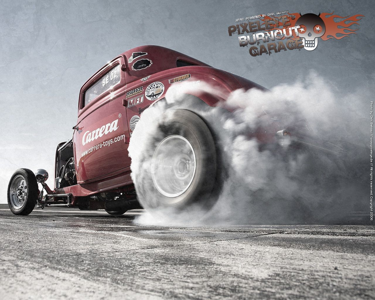 hotrod burn outs | Hot Rod Burnout by dirkbehlau 519x415 ...