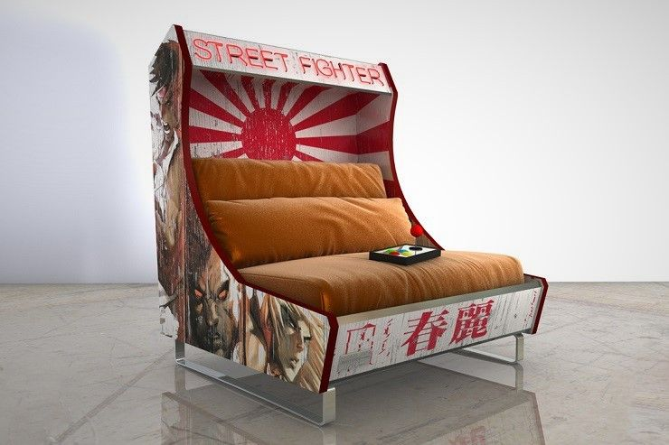 Arcade, Sofa Handmade, Blue Chairs