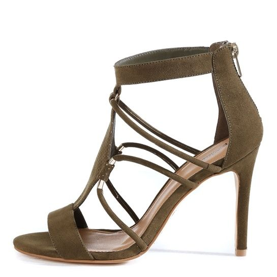4866f3abfd2aa4 Sandaletten mit Bleistiftabsätzen - Accessoires-Kollektion - Pimkie  Deutschland Talons Jaunes, Chaussures Jaunes,