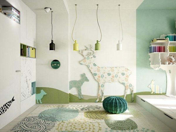 5 creative kids bedrooms with fun themes