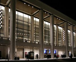 The David H Koch Theater At Lincoln Center Home Of The New York City Ballet Philip Johnson Architecture New York City
