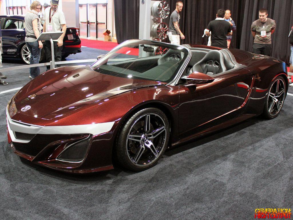 Acura NSX Roadster Concept ― Automotive Design ―