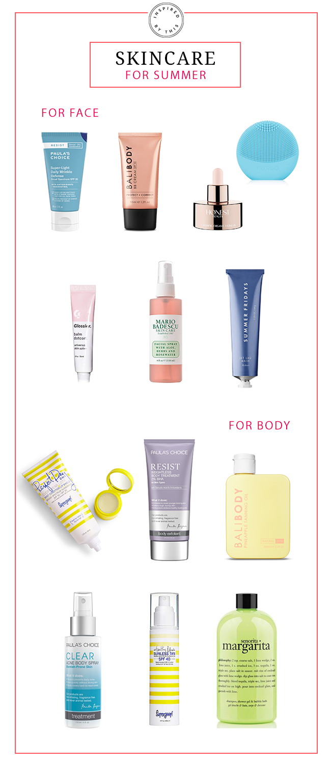 Skincare Products to Add to Your Routine This Summer - Inspired By