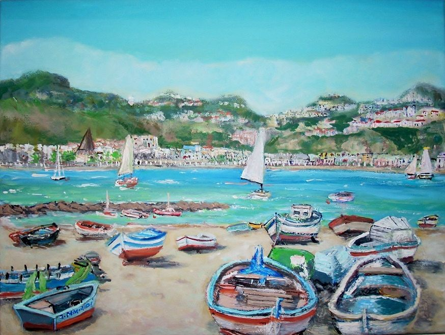 by dominicistudios on Etsy Painting, Coastal art, Seascape