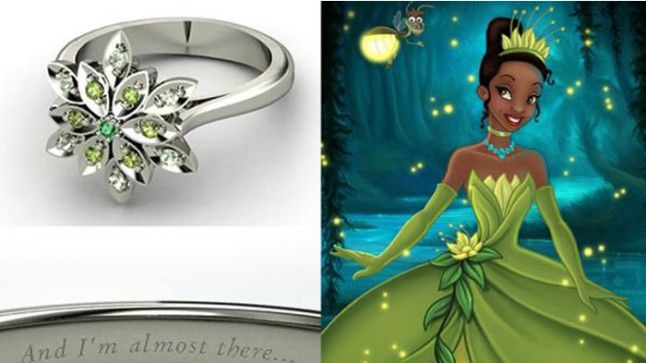 The most beautiful Disneyinspired engagement rings Disney