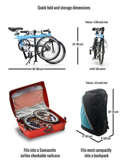 Pakit Folding Bike Bike Friday Folding Bike City Bike