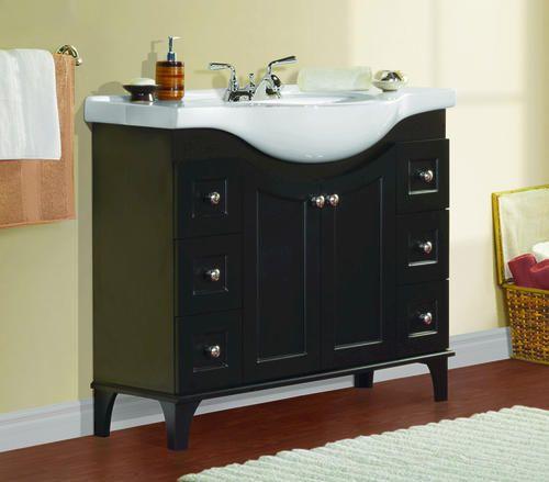 Etonnant Vanities By Depth! Great For Narrow Bathrooms!