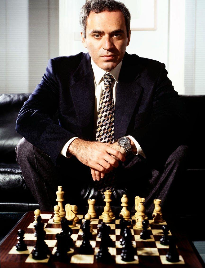 13th - Gary Kasparov   Garry kasparov, Grandmaster chess, Chess tactics