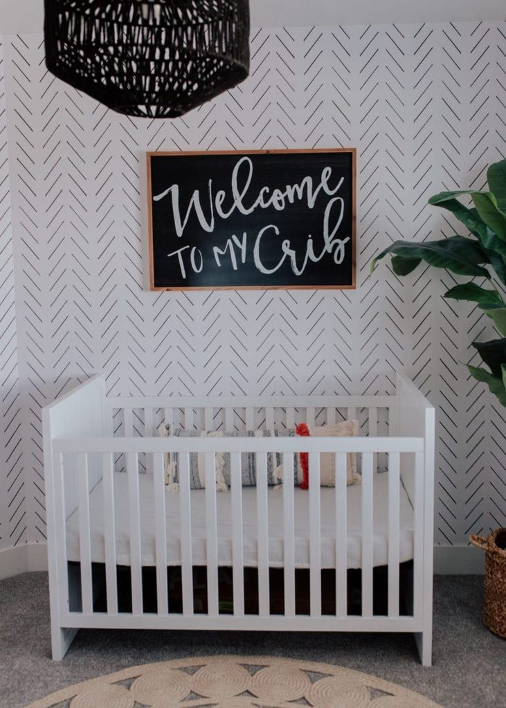 Baby Boy's Boho Inspired Modern Nursery
