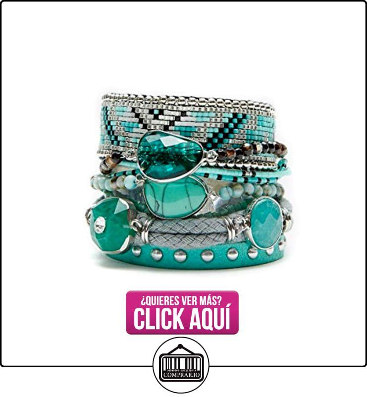 Pulsera brasileña Atlantis azul turquesa Hipanema  ✿ Joyas para niñas - Regalos ✿ ▬► Ver oferta: https://comprar.io/goto/B01JTABU46