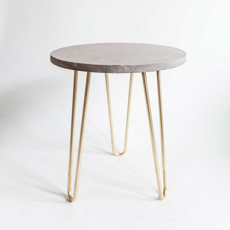 Best Of Etsy Katy Skelton Katie Considers Furniture Side Table Cement Table