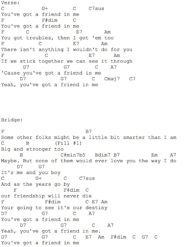 You\'ve Got a Friend in Me Part Two | that\'s my jam! | Pinterest ...