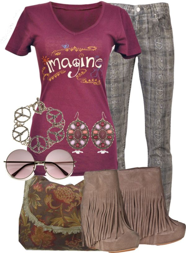 """""""Imagine Peace"""" by michelle-hersh-wenger ❤ liked on Polyvore"""