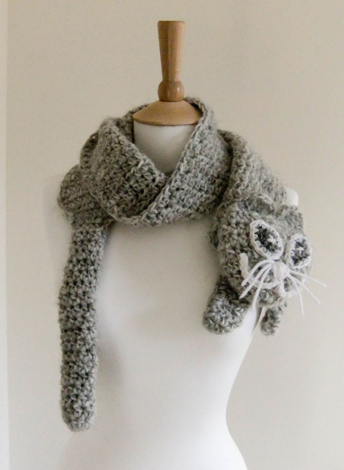 Crochet free cat projects pdf crochet pattern scarf kitty cute crochet free cat projects pdf crochet pattern scarf kitty cute cat grey gray neck warmer bankloansurffo Choice Image
