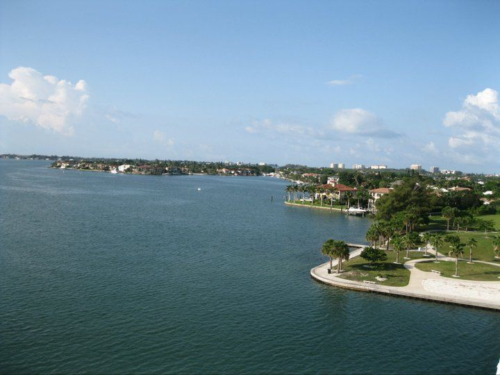 Bird key from ringling bridge beautiful places to live
