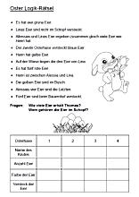 Logik Ratsel Logicals Fur Kinder Losen Words Word Search Puzzle Bullet Journal