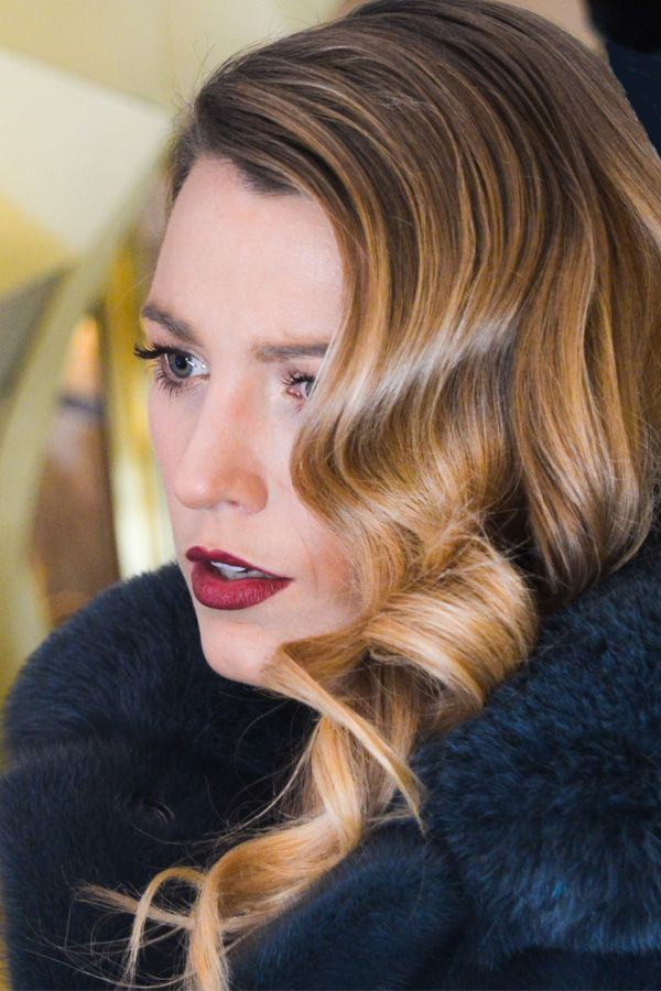 Blake Lively Assures Us That The Ombré Lip Is Totally Wearable #Refinery29
