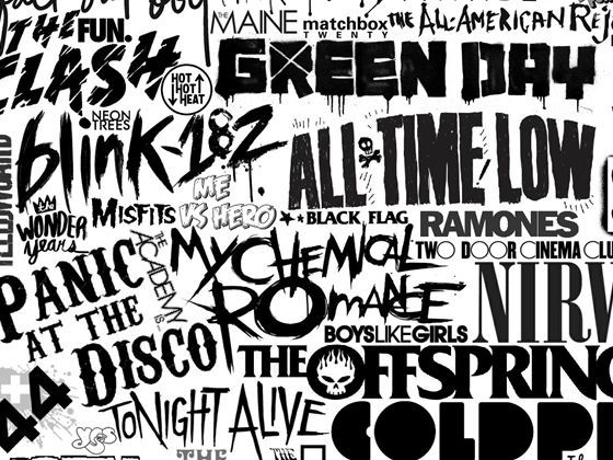 Which Punk Pop Band Member Is Meant For You Pop Bands Punk Bands Logos Pop Punk