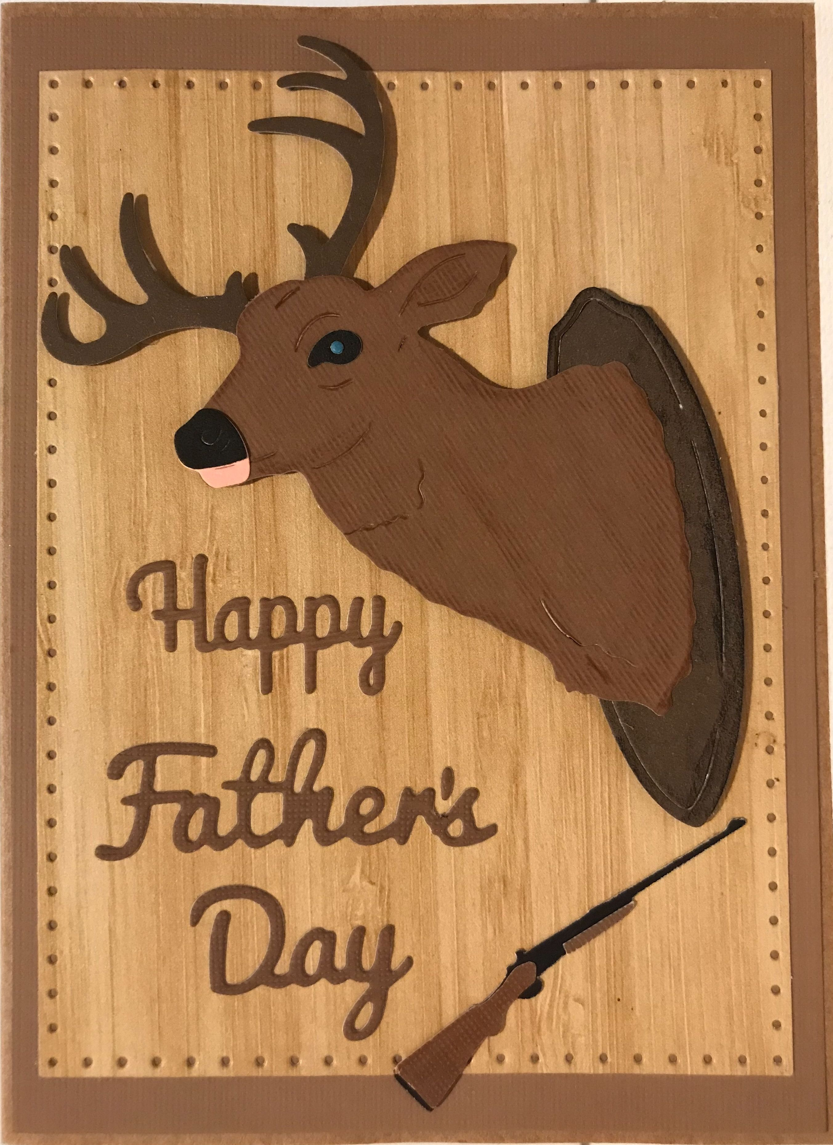 Hunting Father S Day Card Homemade Cards Handmade Cards Cottage Cutz Cards Greeting Cards Etsy Cards Hun Etsy Cards Gift Tag Cards Greeting Cards Handmade