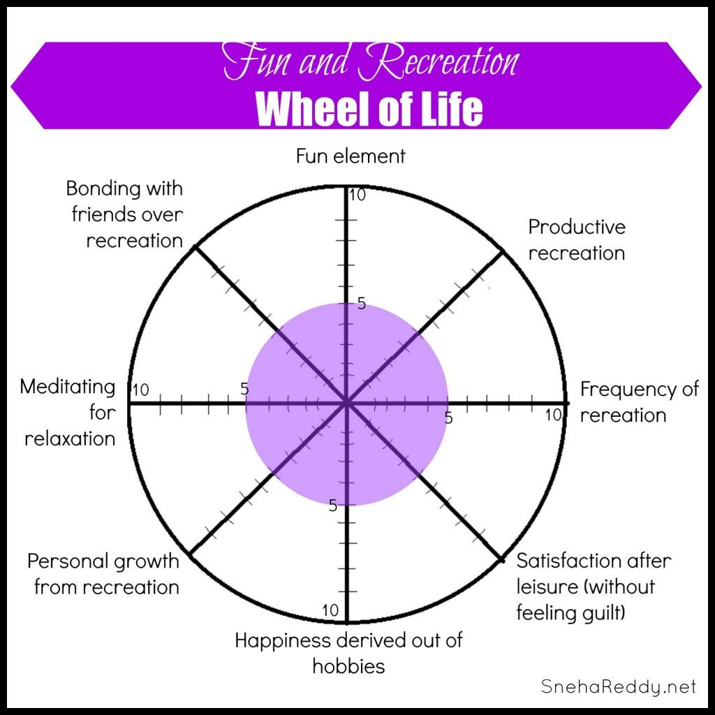 Wheel Of Life Fun And Recreation