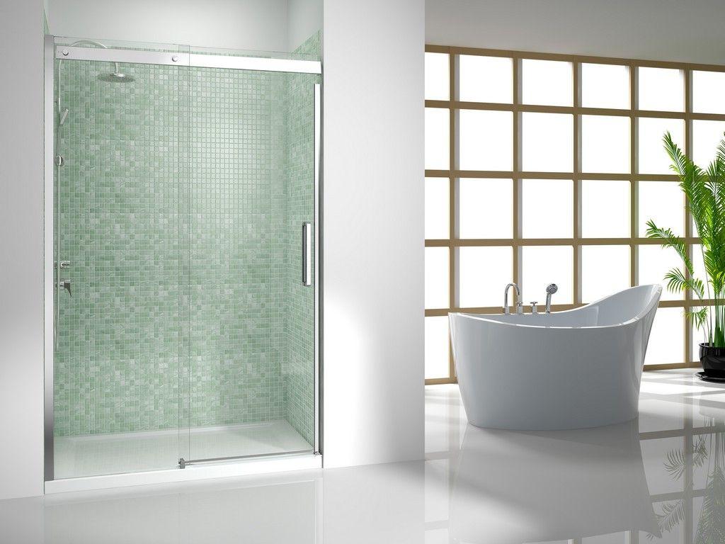 Frameless Glass Shower Doors | shower fixtures | Pinterest ...