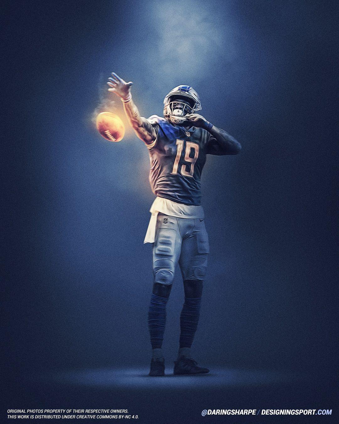 Kenny Golladay Detroit Lions Detroit Lions Nfl Football Art Football Poses