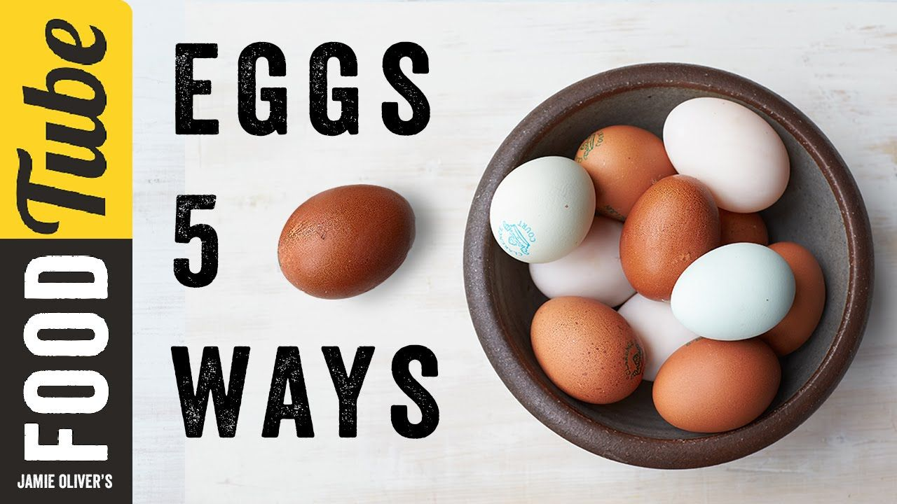 5 Things to do With... Eggs | Food Tube Classic Recipes | #TBT