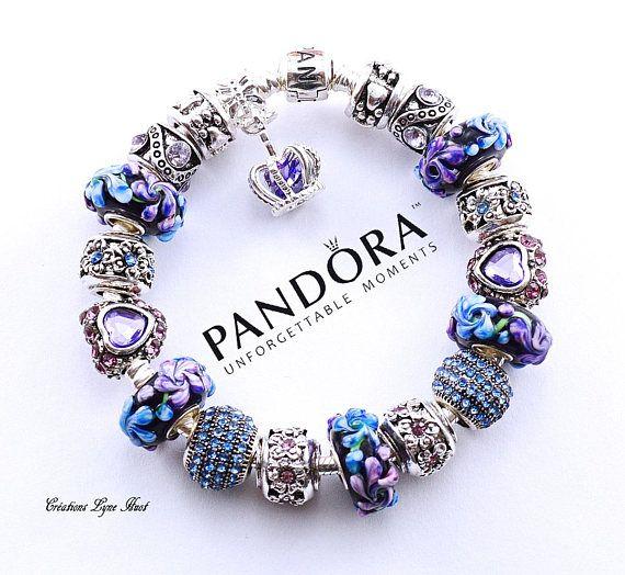 2 choix disponibles Bracelet PANDORA argent sterling avec | Etsy ...