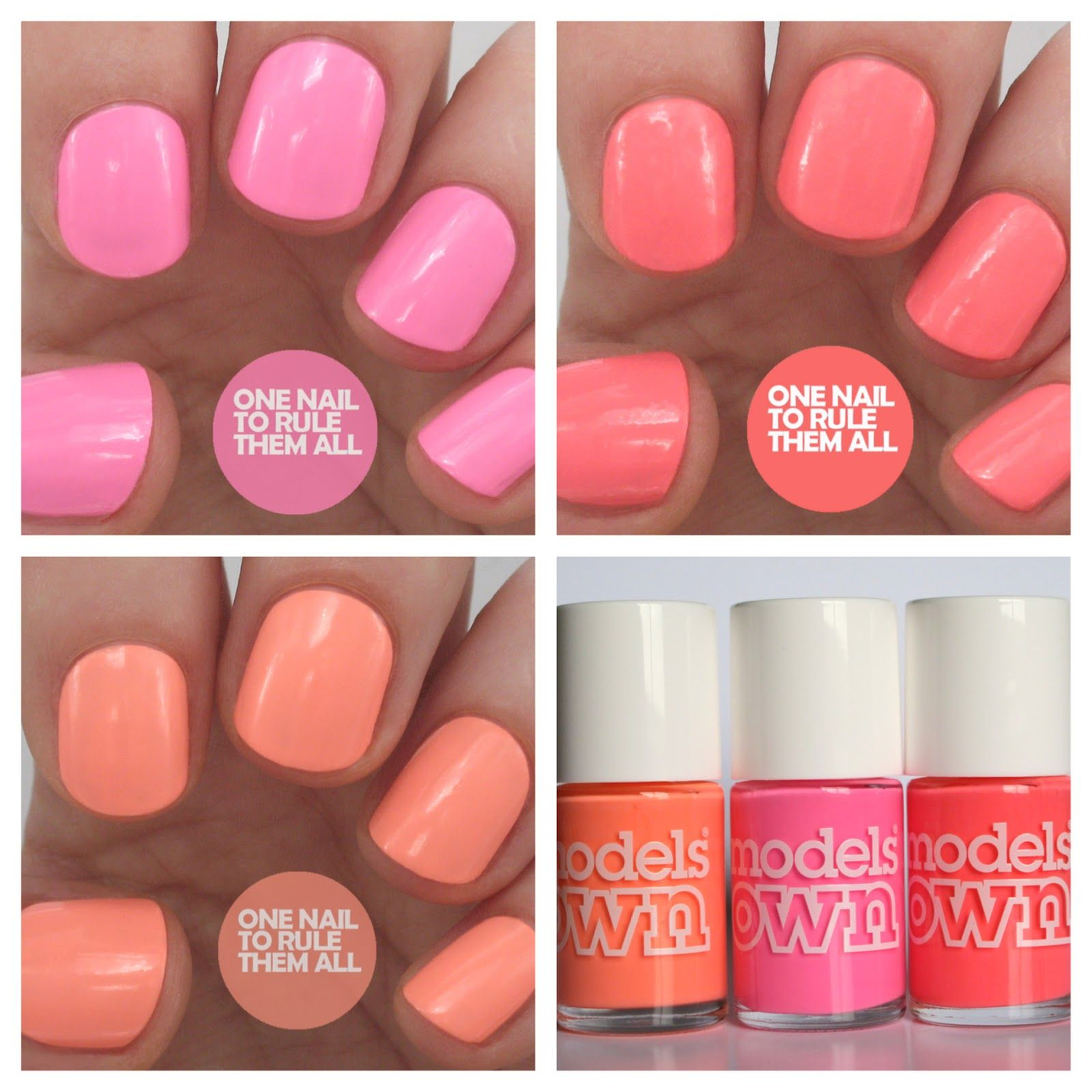 Review Week, Day 1: Models Own Polish For Tans Collection 2014 ...
