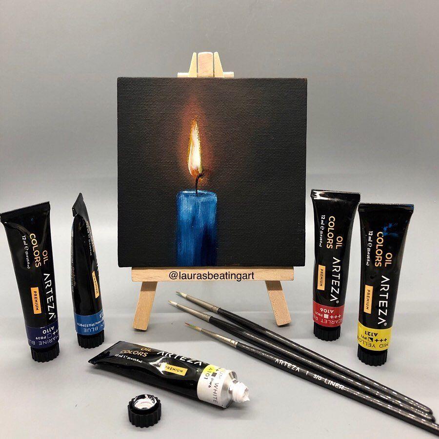 Pin On ARTEZA Oil Paint