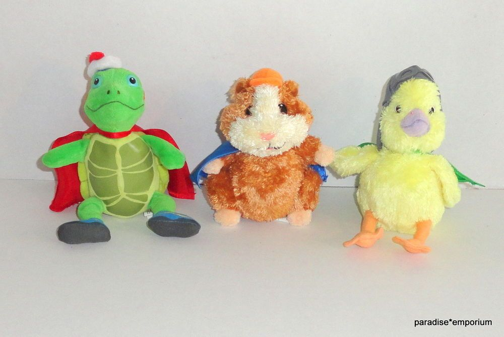 Ty Beanie Babies Wonder Pets Plush Set Linny Tuck And Ming Ming