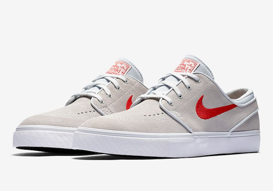 new style 54790 20247 The Nike SB Stefan Janoski In Beige And Red Is Dropping Soon