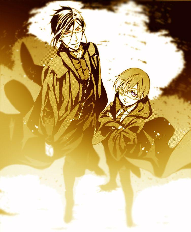Ever notice that sometimes Ciel has a creepier smile than Sebastian...?