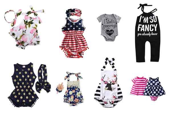 12 Cute Infant Baby Girl Clothes Cheap Online For Summer Infant