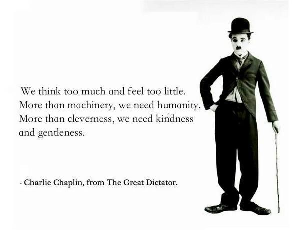 Powerful Pictures On Twitter Charlie Chaplin Quotes Charlie Chaplin Chaplin