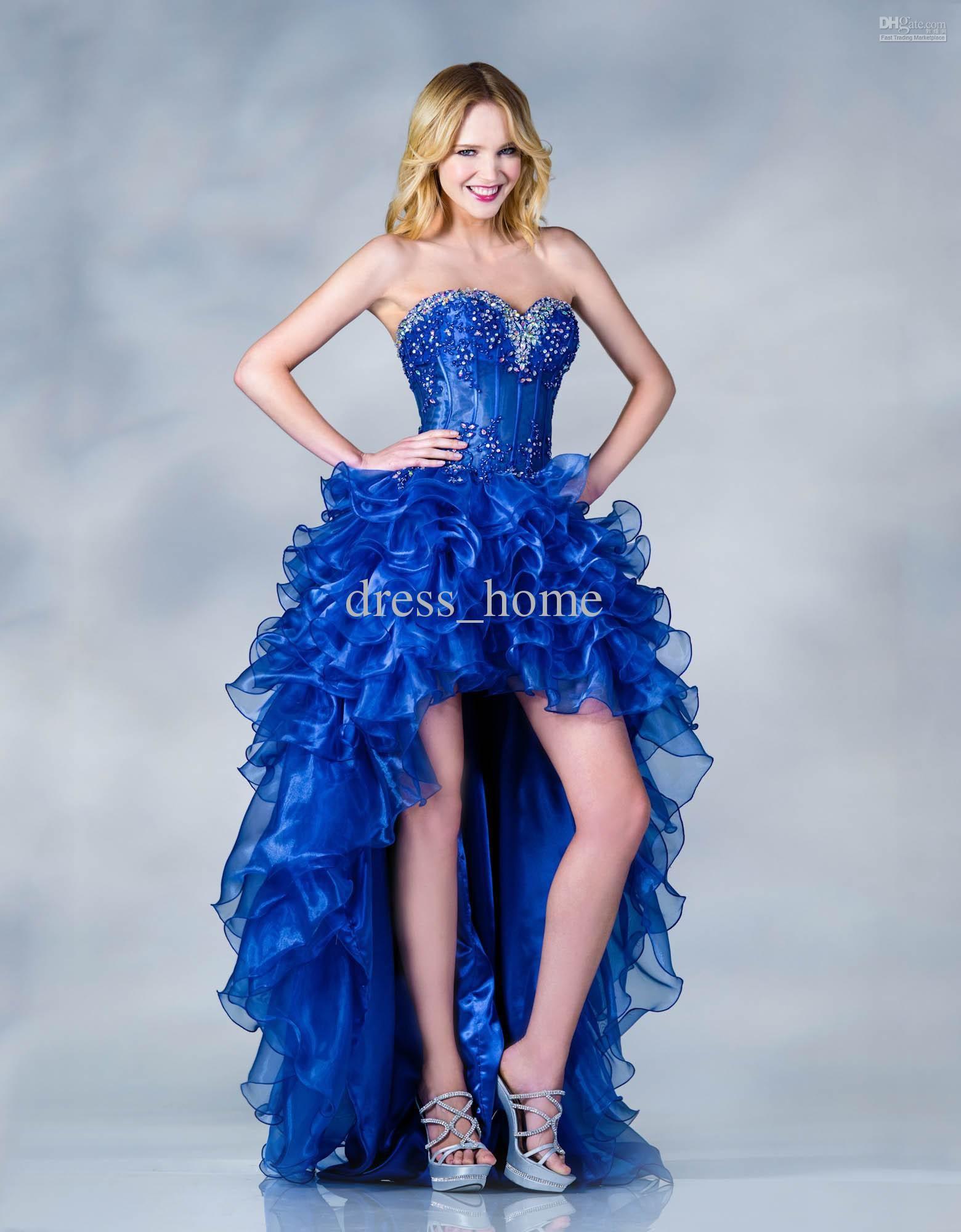 6234320b4 +30 vestidos de 15 años largos y cortos en color azul