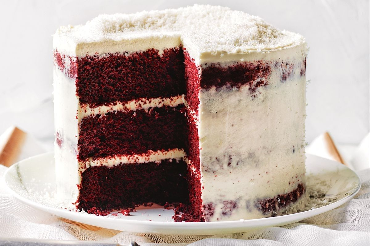 Secret Ingredient Red Velvet Cake Recipe With Images Cake Recipes Cake Velvet Cake Recipes