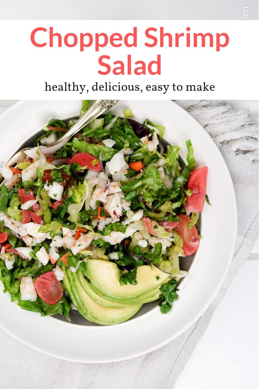 Shrimp Salad With Lemon Vinaigrette Recipe