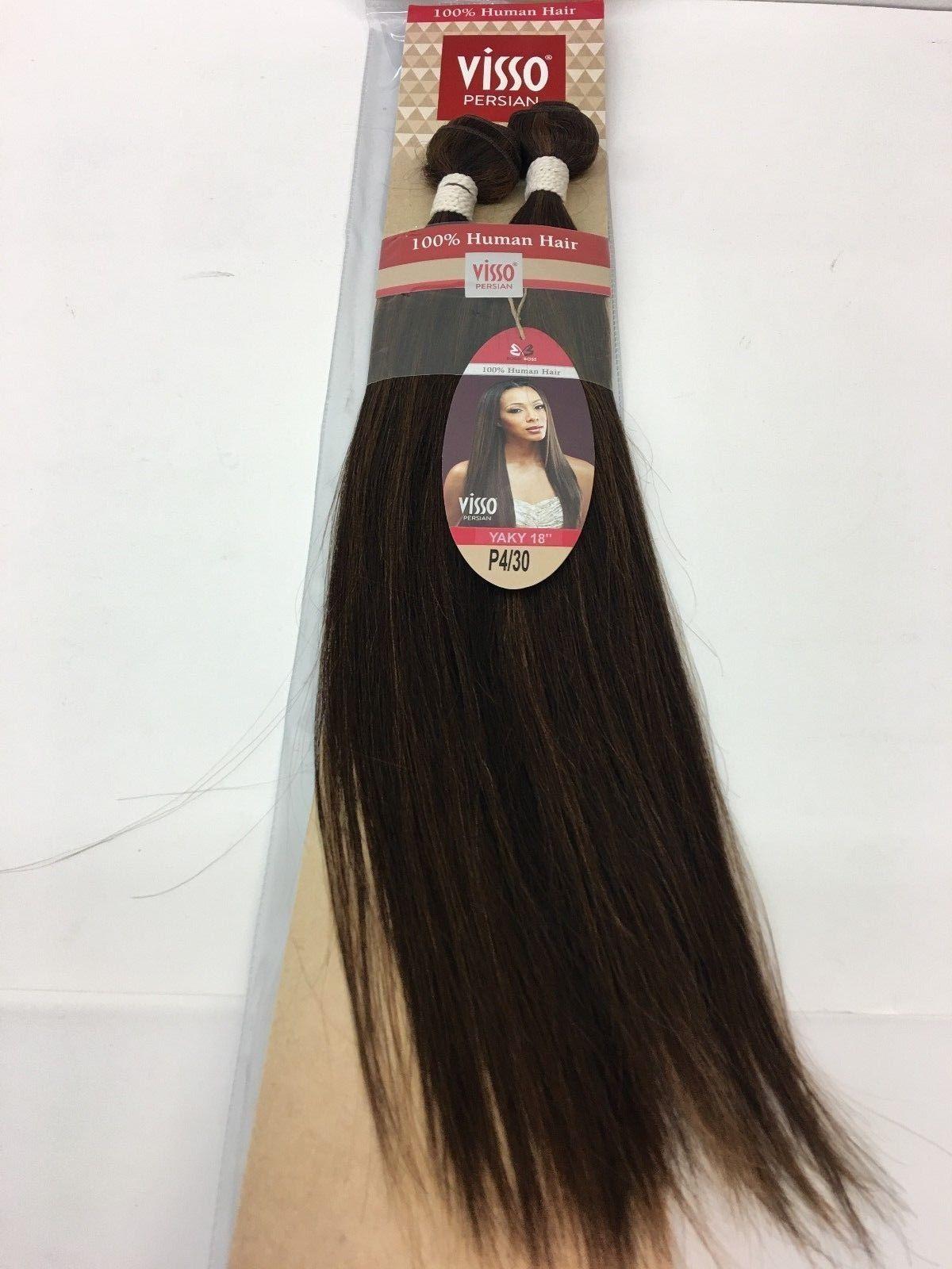 Bobbi Boss Visso Persian Yaky 100 Human Weave Hair Extensions 18