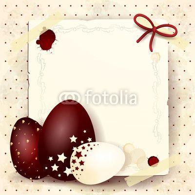 New vector file on Fotolia :) #Easter eggs