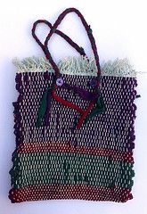 rug bag (Anta p) Tags: bag fabric rug etsy recycle loom europeanstreetteam egst