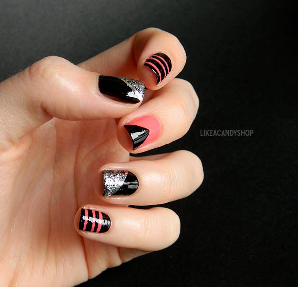 Like A Candy Shop Punk Nail Art Nails Pinterest Punk Nails