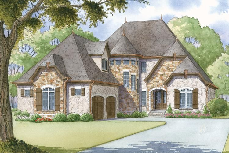 House Plan 8318 00001 French Country Plan 2 979 Square Feet 4 Bedrooms 3 5 Bathrooms French Country House Plans Country Style House Plans Country House Plans