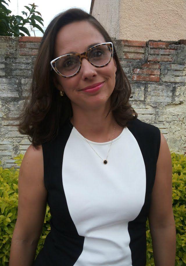 Blog Femina - Modéstia e Elegância: Vestido color block branco e preto da Romwe - elegantíssimo!