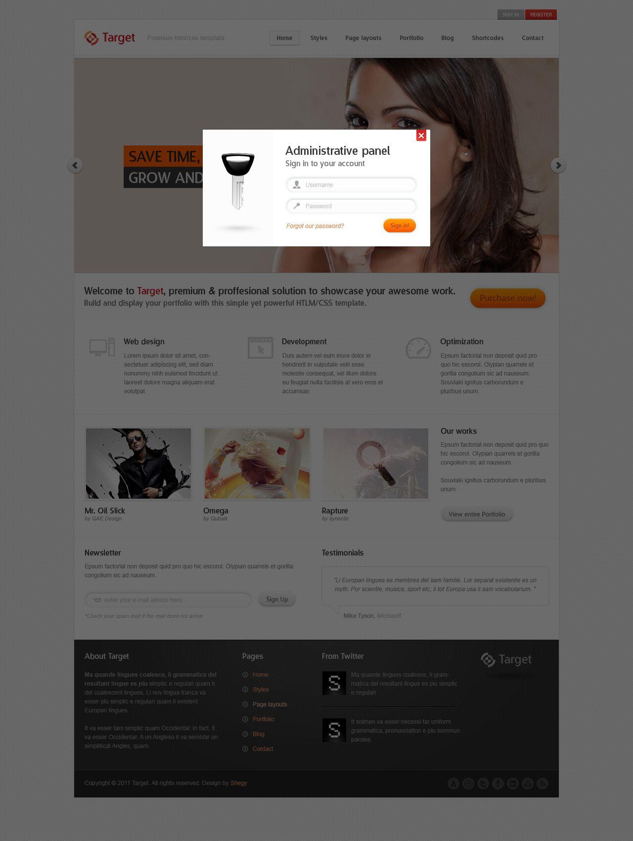 Killtarget Web Design Web Design Advertising Networks Homepage Design