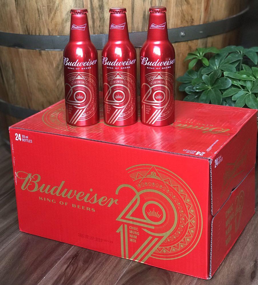 Budweiser chai nhôm - phiên bản cao cấp của Budweiser