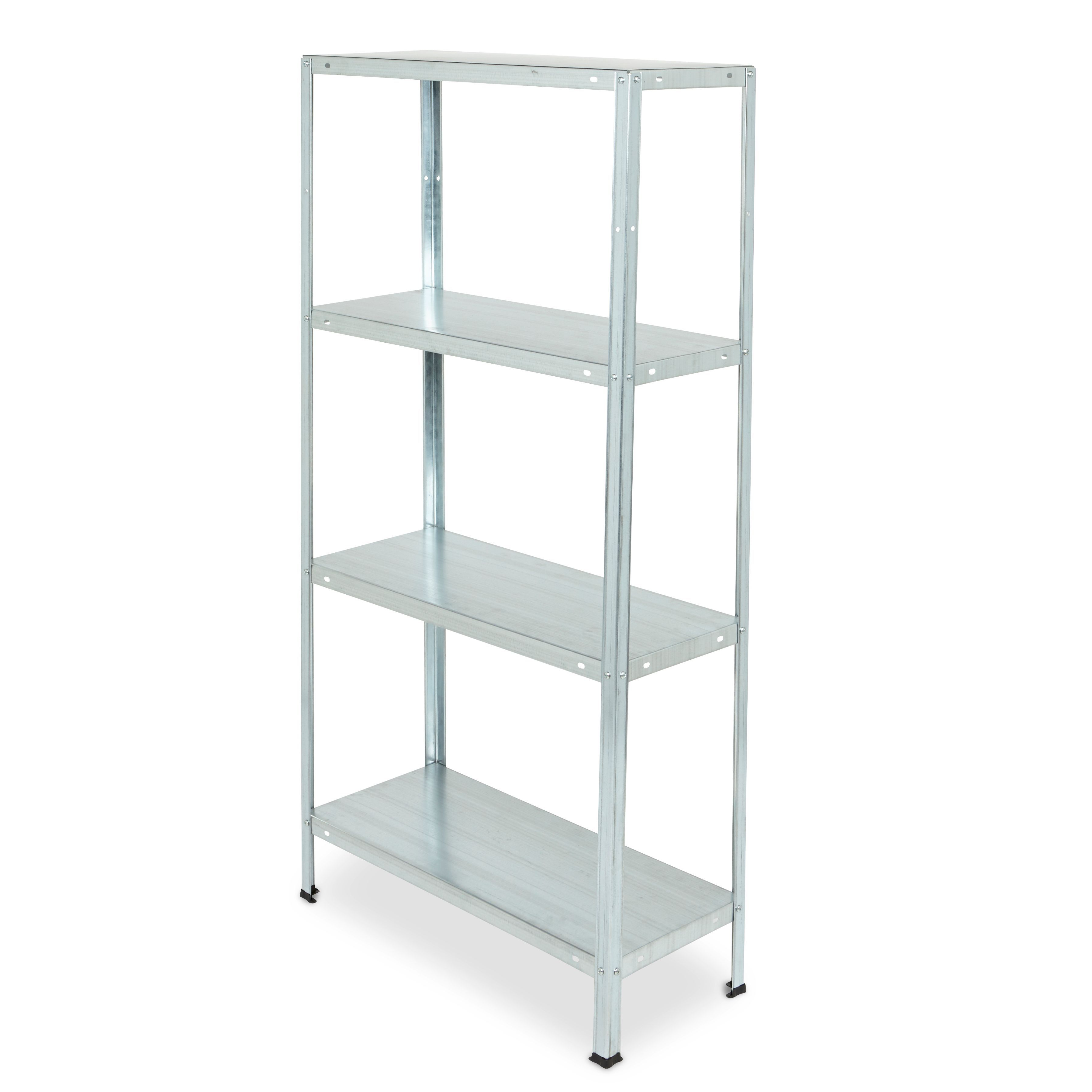 Kitchen Design Tool B Q: Galvanised Steel Shelving Unit (H)1400mm (W)700mm