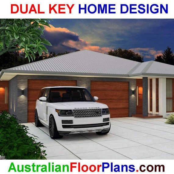 3 X 2 Home Designs Part - 45: 183m2 5 Bed Dual Key Home Design 3 X 2 By AustralianHousePlans