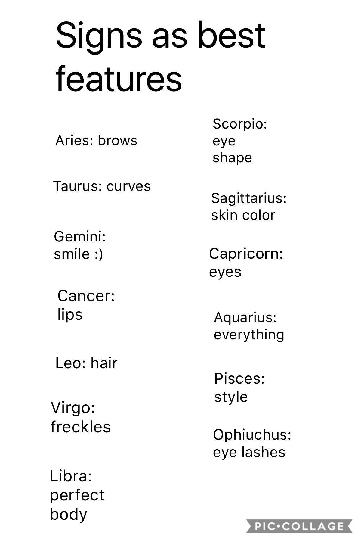 28+ Zodiac signs body shape trends
