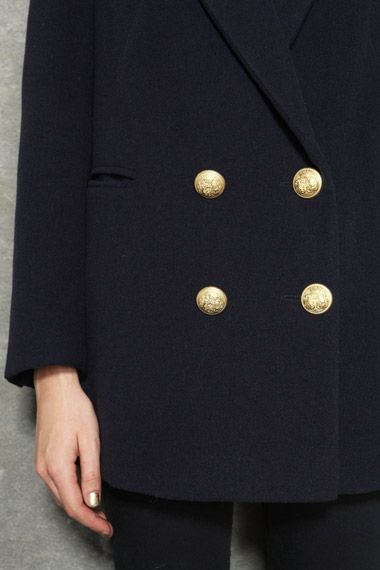 Lux By Sara & Amiee Berman Grandfather Coat